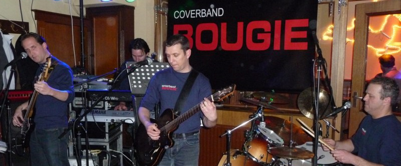 "Coverband ""Bougie"""